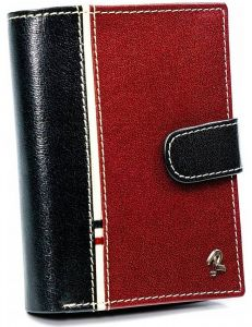červeno-černá pánská peněženka rovicky vel. ONE SIZE 155838-586045