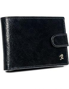 černá pánská peněženka na druk rovicky vel. ONE SIZE 155881-586174