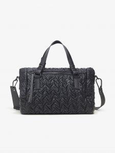 Černá vzorovaná kabelka s pouzdrem na mobil Desigual