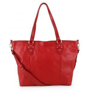 Sněžka Náchod Dámská kožená kabelka přes rameno 5090 – červená