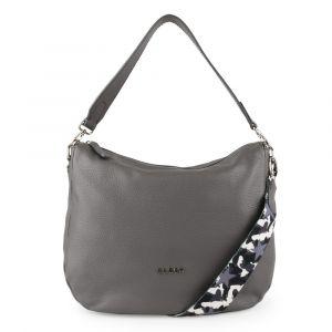 Elega Dámská kožená kabelka přes rameno Hessy 69602 – šedá