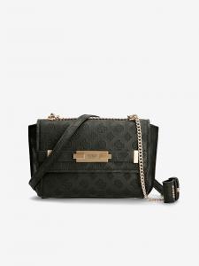 Černá dámská vzorovaná crossbody kabelka Guess