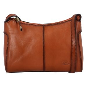 Dámská kožená kabelka světle hnědá – Katana Parikey hnědá