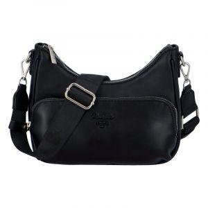 Dámská kabelka přes rameno černá – David Jones Bouty černá