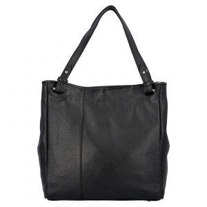 Dámská kožená kabelka Delami Vildea – černá