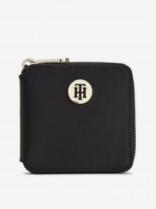 Černá dámská malá peněženka Tommy Hilfiger Poppy